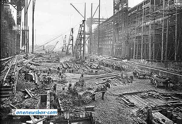 Fantastic-Rare-Pictures-Showing-Construction-Of-The-Titanic-1